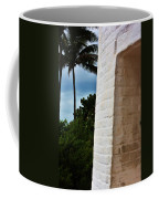cape Florida light door Coffee Mug