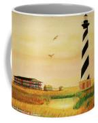 Cape Hatteras Light At Sunset Coffee Mug
