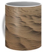 Cape Hatteras Ripples In The Sand-north Carolina Coffee Mug