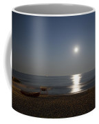 Cape May Beach In The Moonlight Coffee Mug