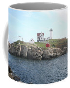 Cape Neddick Light On A Misty Morning Coffee Mug