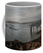 Cape Porpoise Fog Rolls In Coffee Mug
