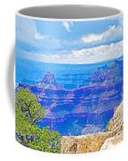 Cape Royal Blue On North Rim Of Grand Canyon-arizona Coffee Mug