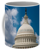 Capital Dome Washington D C Coffee Mug by Steve Gadomski