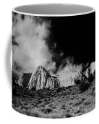 Capital Reef National Park In Black And White  Coffee Mug