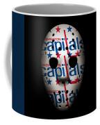 Capitals Goalie Mask Coffee Mug