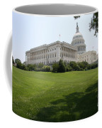Capitol Hill View Washington Dc Coffee Mug