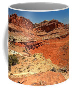 Capitol Reef Colorful Landscape Coffee Mug