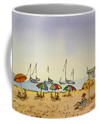 Capitola - California Sketchbook Project  Coffee Mug by Irina Sztukowski