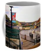 Cap'n Jacks Marina Harbor Walt Disney World Coffee Mug