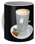Cappuccino With An Amaretti Biscuit Coffee Mug by Terri Waters