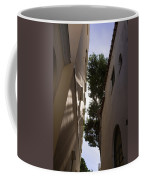 Capri - The Mediterranean Sun Painting Playful Shadows On Facades Coffee Mug