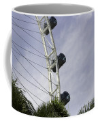 Capsules And Structure Of The Singapore Flyer Along With The Spokes Coffee Mug