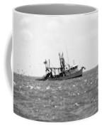 Capt. Jamie - Shrimp Boat - Bw 01 Coffee Mug