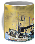 Capt. Jamie - Shrimp Boat - Photopower 01 Coffee Mug
