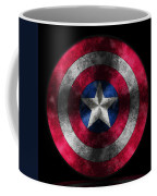 Captain America Shield Coffee Mug