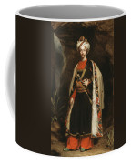Captain Colin Mackenzie In His Afghan Coffee Mug by James Sant