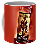 Captain Morgan Red Toned Coffee Mug