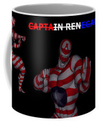 Captain Renegade Super Hero Combating Crime Coffee Mug