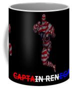 Captain Renegade Super Hero Jumping Karate Kick Coffee Mug