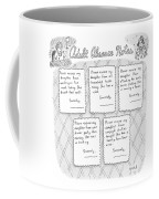 Captionless: Adult Absence Notes Coffee Mug