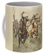 Capture Of Samory By Lieutenant Coffee Mug