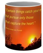 Capture The Heart Coffee Mug