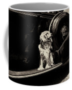 Car And Dog Coffee Mug