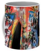 Car Of Many Colors Coffee Mug