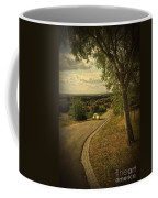 Car On Road Coffee Mug by Carlos Caetano