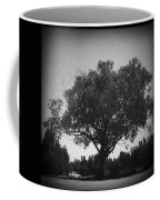 Car Parked Under A Tree Coffee Mug