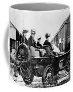 Car Race, 1908 Coffee Mug