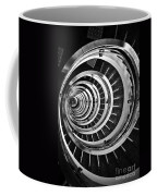 Time Tunnel Spiral Staircase In Sao Paulo Brazil Coffee Mug