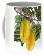 Carambolas Starfruit Two Up Coffee Mug