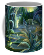 Card Design For Insects Of Enchanted Stream Coffee Mug
