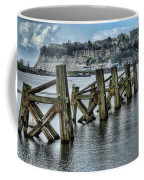Cardiff Bay Old Jetty Supports Coffee Mug