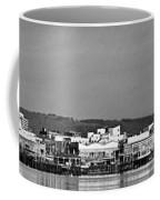 Cardiff Bay Panorama 2 Mono Coffee Mug