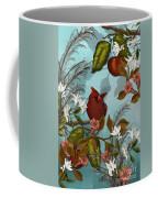 Cardinal And Apples Coffee Mug