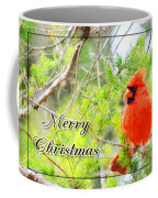 Cardinal Christas Card Coffee Mug