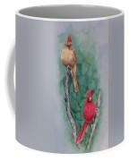 Cardinal Companions Coffee Mug