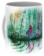 Cardinal - Featured In Comfortable Art-wildlife-and Nature Wildlife Groups Coffee Mug