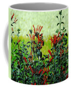 Cardinal Flowers Coffee Mug