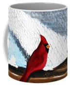 Cardinal In The Dogpound Coffee Mug