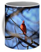 Cardinal In The Midst Coffee Mug