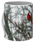 Cardinal In Winter Coffee Mug