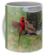 Cardinal Kiss Coffee Mug
