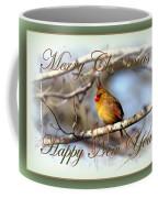 Cardinal - Lady At Christmas Coffee Mug