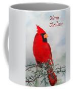 Cardinal Merry Christmas Coffee Mug