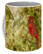 Cardinal Singing Coffee Mug