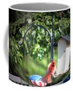 Cardinal Tail Wide Landing Digital Art Coffee Mug